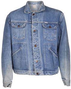 Wrangler Vintage 1970s distressed jacket on shopstyle.co.uk