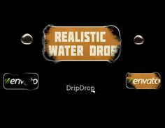 Project available at :  videohive.net/item/drop-water-logo/8512617 ----------------------------- Project Info:  - CS5, CS5.5, CS6 and CC After Effects versions  - FULL HD 1920×1080p  - No plugins required  - 8 template idea  - It is possible to change paper (2 paper backgrounds are included)  - Video Tutorial Included