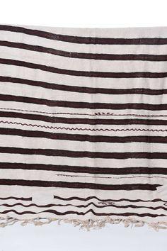 Private 0204 striped vintage hemp rug.  Avaliable at shoptwig.com