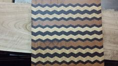 Some Chevron Patterns in Cutting Boards