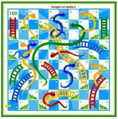 The 63 best spelborden images on pinterest board games game kids under snakes and ladders board game maxwellsz