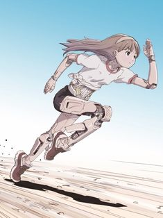 Safebooru is a anime and manga picture search engine, images are being updated hourly. Cyberpunk Kunst, Sci Fi Kunst, Cyberpunk Anime, Fantasy Kunst, Fantasy Art, Art Bloc, Character Concept, Character Art, Manga Art