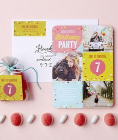 Throw a sweet birthday party for your special girl. Personalize a birthday party invitation at Tiny Prints.