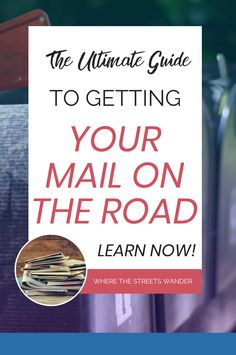 Use these keywords: RV traveling full time, how to get your mail while you're traveling, mail forwarding service