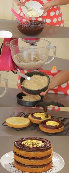 Cupcake Maniacs 1: Tarta de naranja y chocolate