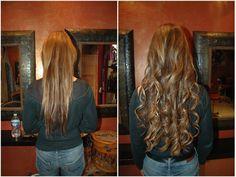 Fantastic Gorgeous Long Hair Extensions Great Lengths by Amaryllis Paris. Before & After. Incroyables Extensions de cheveux longs avant après par le salon Amaryllis http://www.amaryllisextensionscheveux.com