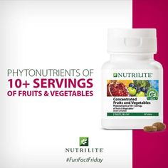 Hey, check out what I'm selling with Sello: Fruits & Vegetables Nutrilite http://yolierm.sello.com/shares/NaDxX