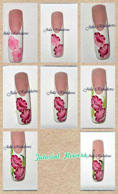 861 Best Step By Step Nail Art Images On Pinterest Pretty Nails