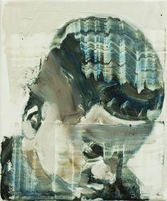 Bad Boys Have a Nice Haircut, oil on canvas, 28x23cm (11x9), 2017    Paintings 2017 | Bartosz Beda
