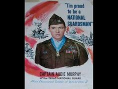 Another video I designed with a voice over of an actual Audie Murphy PSA for the U.S. Army Recruiting Command from the early 1960's overlaid over a modern U.S. Army Recruiting Commercial. To sign the Audie Murphy Presidential Medal of Freedom Petition go to the homepage of: www.audiemurphy.com
