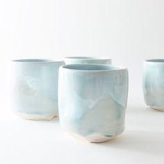set of 4 yunomi. studio joo.