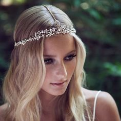 bridal boho headpiece - Google Search