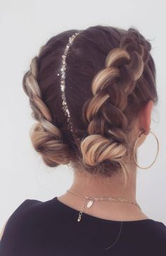 Pretty big braid hairstyle , Trendy Chic Braided braids ,chunky braids hair braids 72 Braid Hairstyles That Look So Awesome Pretty Braided Hairstyles, Easy Hairstyles For Long Hair, Teen Hairstyles, Natural Hairstyles, Braided Hairstyles For Short Hair, Two Buns Hairstyle, Cute Hairstyles For Summer, Wedding Hairstyles, Plaits Hairstyles