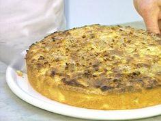 Tarta de manzana batida  Receta: Hna. Bernarda - El Gourmet- Dulces Tentaciones