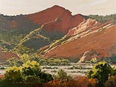 Big Red by Greg LaRock (LPAPA Signature Member - California) Oil ~ 18 x 24