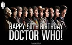 Happy 50th Birthday, Doctor Who!