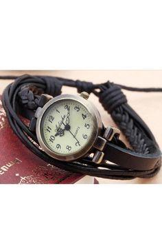 Vintage wrap watch