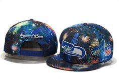 5dc4a0735 NFL Mitchell And Ness Snapback Fireworks Seattle Seahawks Hats 221