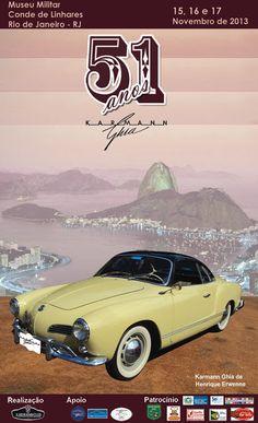 Karmann Ghia 51st anniversary poster