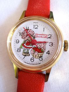 Strawberry Shortcake watch still have mine my dad bought for me.