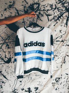 Unisex Vintage Adidas Sweatershirt