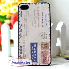 vintage Canadian Airmail envelope iPhone 4/4s iPhone by Indomaret, $10.00