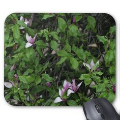 Pink Flower Tree Mousepad