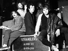 Rock Group the Stranglers, L-R Dave Greenfield, Jet Black, Hugh Cornwell, Jean Jacques Burnel, 1977 Photographic Print