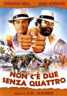Risultati immagini per bud spencer e terence hill film Jim Henson, Gremlins, Lps, Soundtrack, Bud Spencer Terence Hill, Thriller, Cult, Jazz Musicians, Top Movies