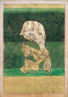 Bild: Paul Klee - Die Heilige, 1921.