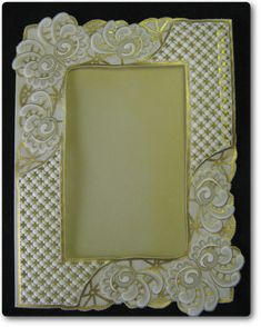 Picture Frame/Parchment Craft Step-by-step crafts