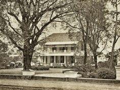 Hotel der Nederlanden te Batavia 1872.