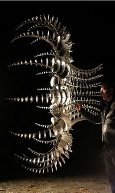 Anthony Howe's Otherworldly Kinetic Sculptures http://www ...