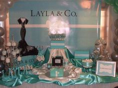 Tiffany & Co. Birthday Party Ideas | Photo 1 of 65 | Catch My Party