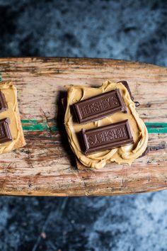Chocolate Dipped Peanut Butter Espresso S'more | halfbakedharvest.com
