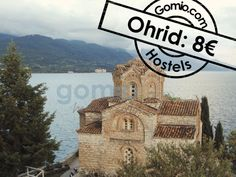 """#Ohrid, Macedonia 8€/ $10   Ohrid has 360 #churches – for each day of the year! The nickname of Ohrid is the """"#Jerusalem of the #Balkans"""". Most of churches in Ohrid charge an entry fee, and for #tourists it is normally double that what #locals pay. Just take this into account. You can find all cheap #hostels in Ohrid here: http://www.gomio.com/en/hostels/europe/macedonia/ohrid/search.htm  #Ohrid #Lake #Fun #Travel #Traveling #EastEurope"""