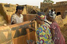 Tiebele (Gurunsi People village), Burkina Faso