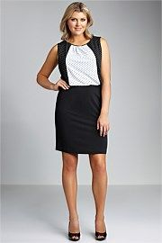 Sara Spot Bodice Dress. Get immaculate discounts up to 60% at Ezibuy using Coupon and Promo Codes.
