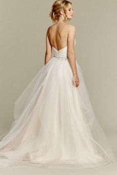 Suitable Sweep/Brush Train A-line Sweetheart Sleeveless Beading Tulle Asian Wedding Dresses