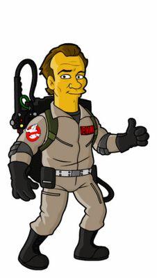 Peter Venkman, Ghostbuster Simpson-ized