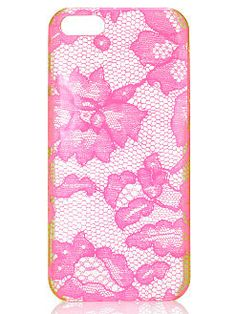 Pink Lace iPhone® Hard Case