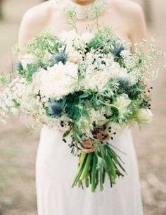 REVEL: Blue Thistle Bouquet