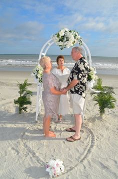 Myrtle Beach Wedding Packages | All Inclusive Myrtle Beach Weddings by Beach Occasions » Renewal of Vows Package – From $379