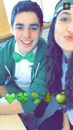 Luck of the green freshmen! #nshashiriyah15