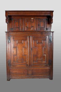 17th century cupboard, Marhamchurch antiques