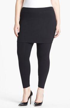 Eileen Fisher Skirted Leggings (Plus Size)   Nordstrom