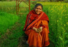 Vandana Shiva on why organic, restorative agriculture is key to curbing climate change and feeding the world.