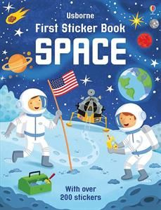 Show details for First Sticker Book Space