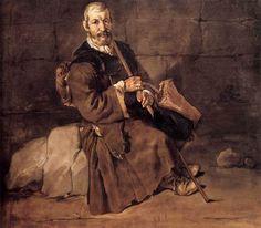 "18th Century Long Hunting Clothing | Beggar Resting"" By Ceruti 1720s. Italian."