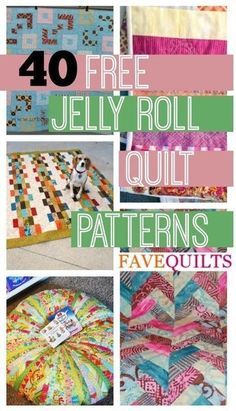 45 Free Jelly Roll Quilt Patterns New Jelly Roll Quilts | FaveQuilts.com by ava